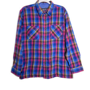 Vintage John Blair Colorful Button Up Shirt